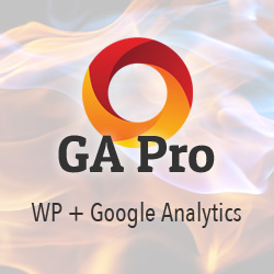 [ Premium WP Plugin: GA Pro: WordPress + Google Analytics ]